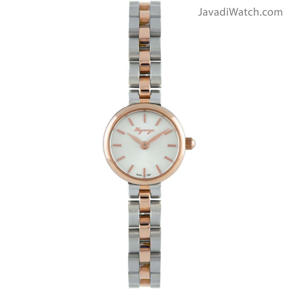 ساعت الگنگس بند فلزی زنانه مدل 8167-109