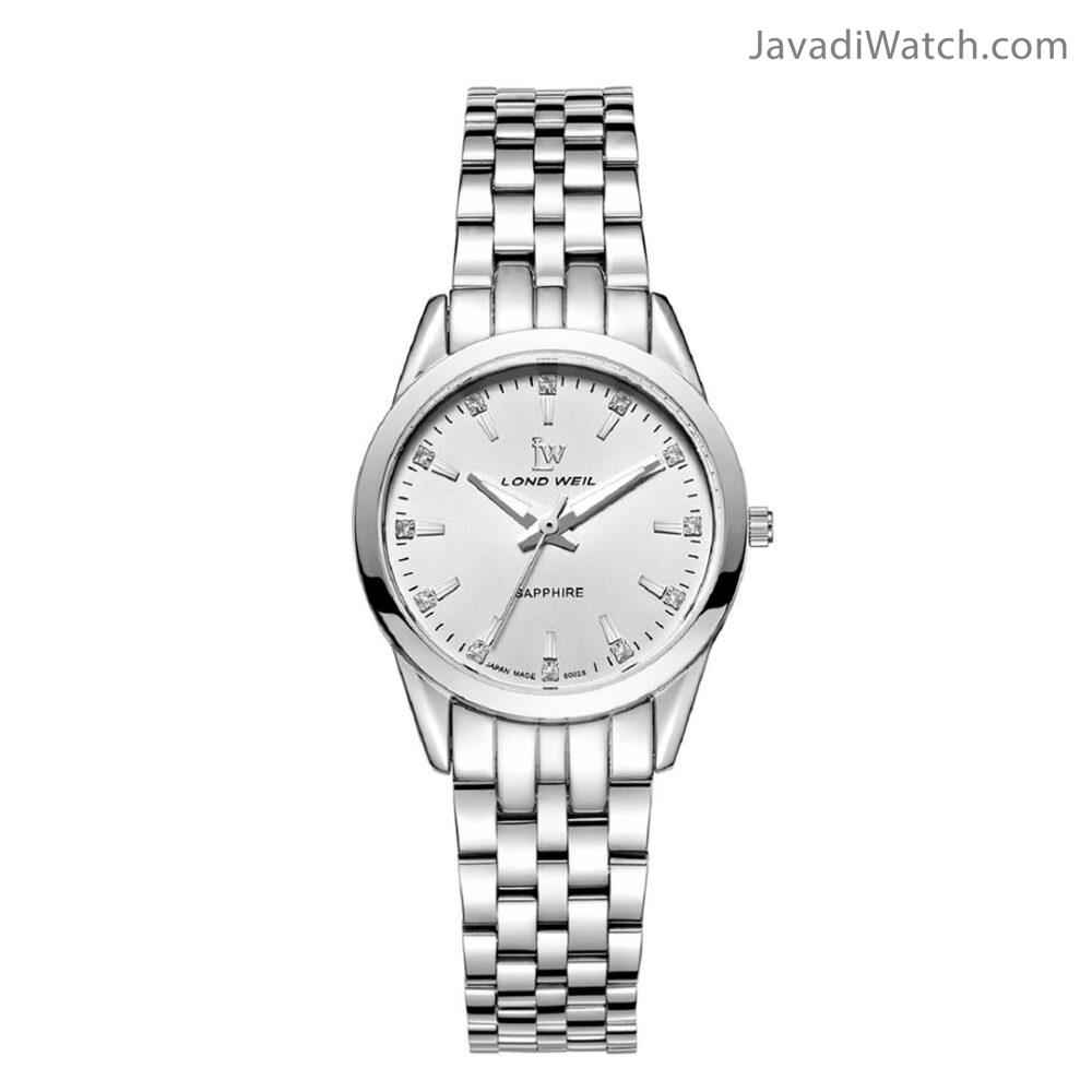 ساعت لوندویل زنانه بند فلزی استیل سیلور مدل 60028
