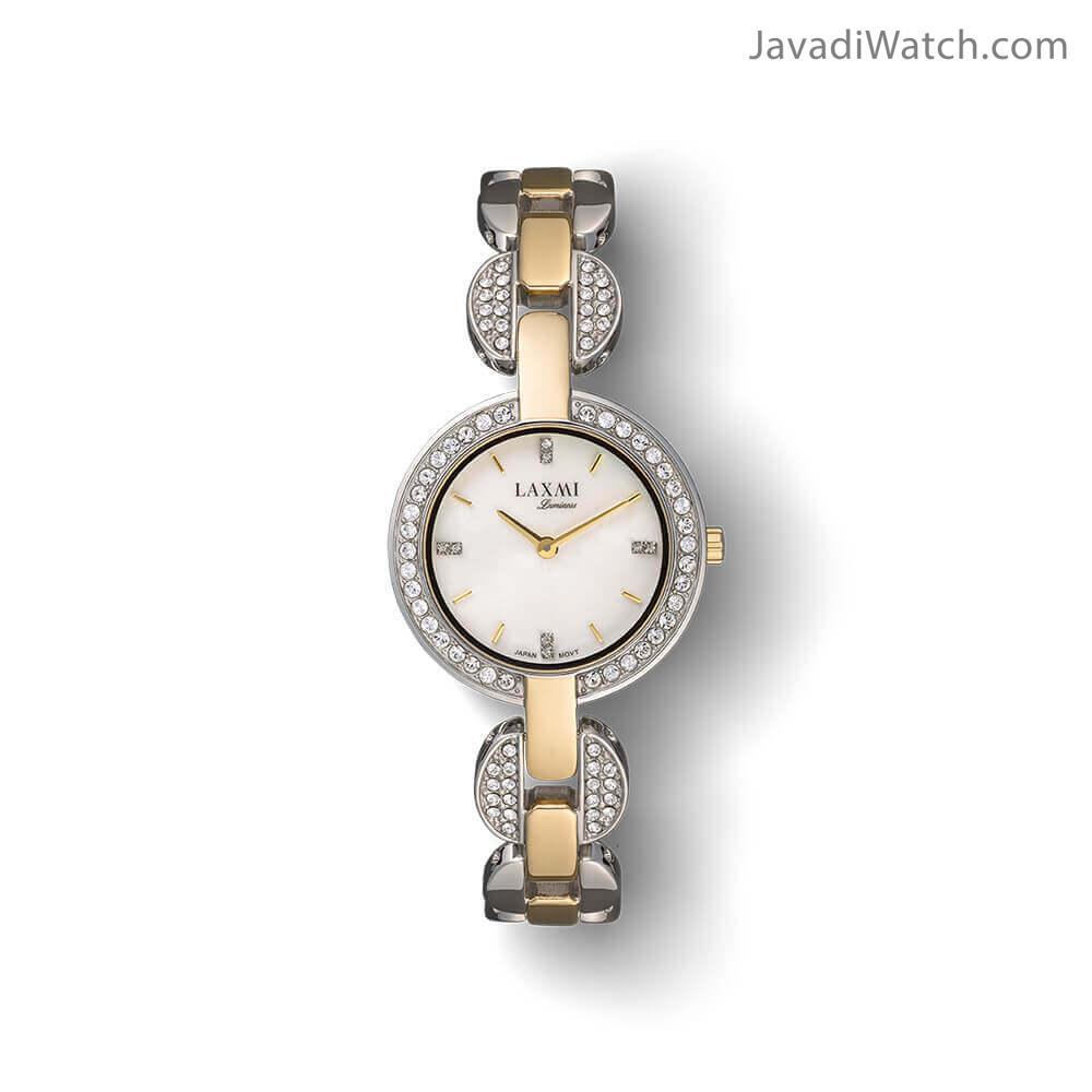 ساعت لاکسمی زنانه بند فلزی مدل 8003-4