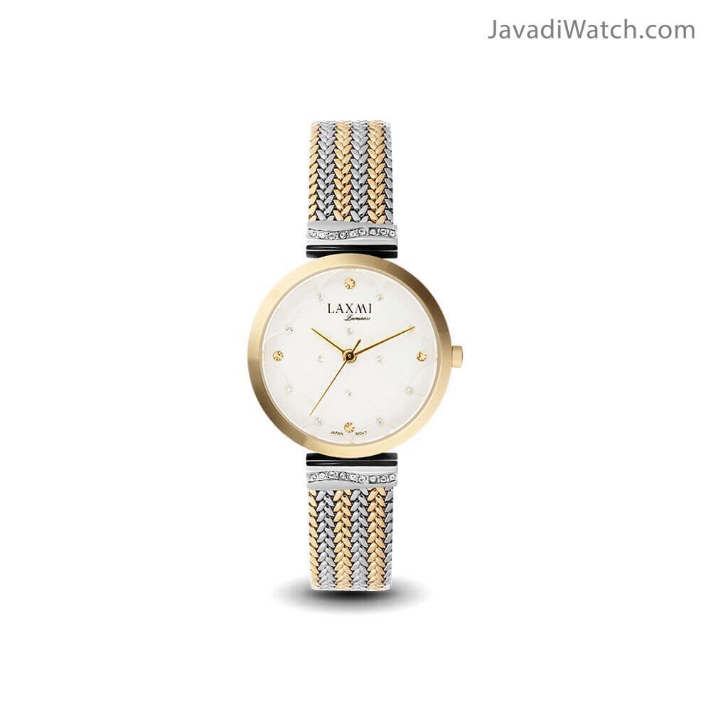 ساعت لاکسمی زنانه بند فلزی مدل 8070-2