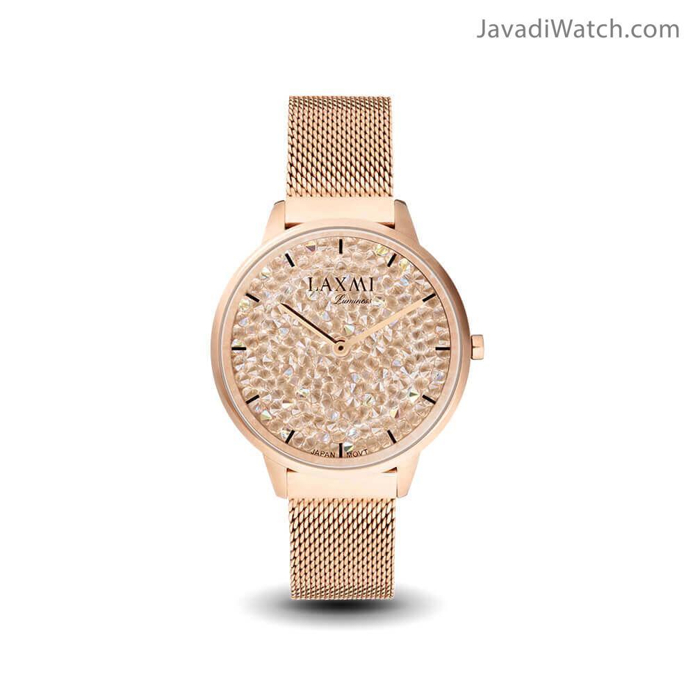 ساعت لاکسمی زنانه بند فلزی مدل 8077-4