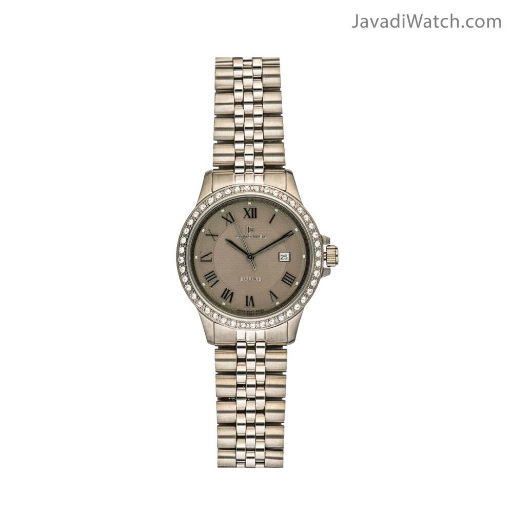 ساعت لوندویل زنانه بند فلزی استیل طوسی مدل 60022