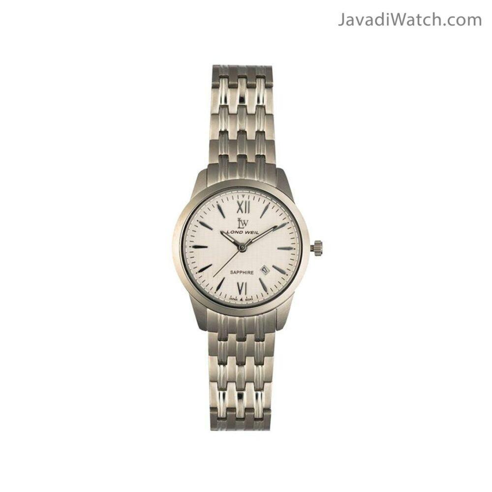 ساعت لوندویل زنانه بند فلزی استیل سیلور مدل 60043