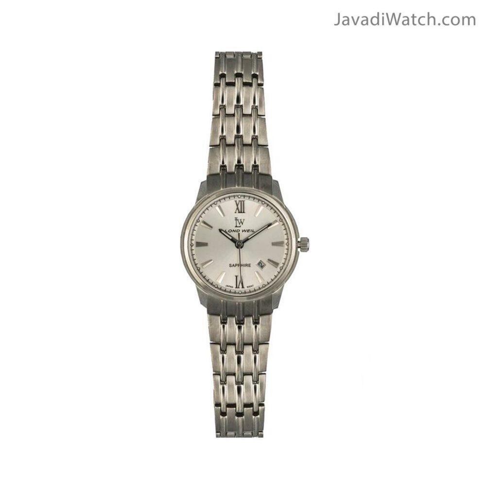 ساعت لوندویل زنانه بند فلزی استیل سیلور مدل 60047